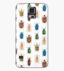 Summer mood. Watercolor tropical bugs Case/Skin for Samsung Galaxy