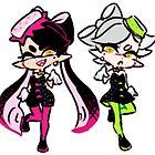 squid sisters by PearlChan