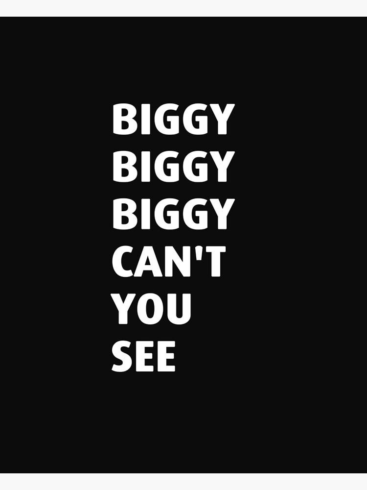 Biggie Smalls BIG and 2Pac Tupac Large BOX CANVAS Art Print Black /& White