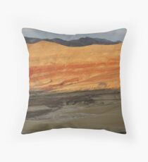 Painted Hills Sunset Throw Pillow
