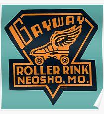 Gayway Roller Rink Poster