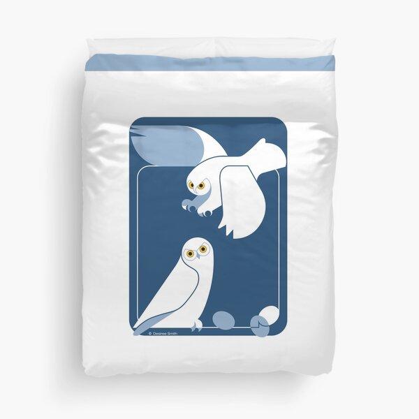 Snowy Owls #2 Duvet Cover