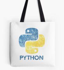 Retro Python Programmer Tote Bag