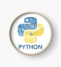 Retro Python Programmer Clock