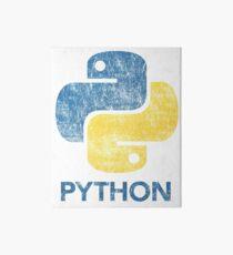 Retro Python Programmer Art Board