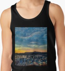 High View of Seoul During Sunset Tank Top