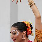 HOLI Indian Color Festival Dancer ( Please read!) by Heather Friedman