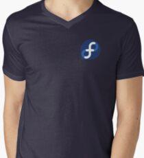 Fedora x4 Men's V-Neck T-Shirt