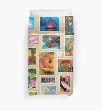 Aimee Stewart Stamp Sampler Duvet Cover