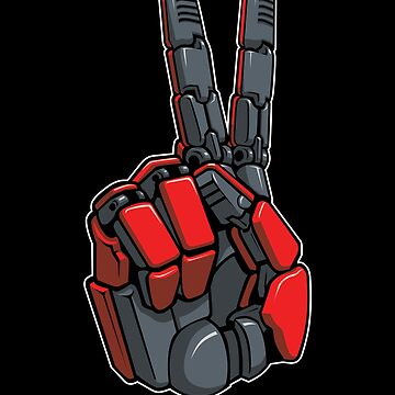 Metal Gear V Solid Big Boss Peace Robot Hand by AlexanderGorham