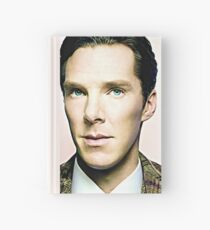 Portrait of Ben Acrylic Style Hardcover Journal