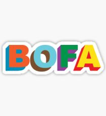 BOFA 3D Logo T-shirt Sticker