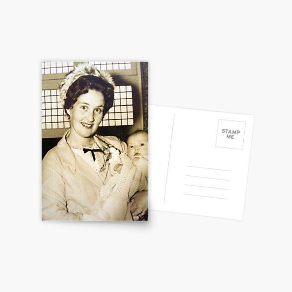 My Mum.... Postcard