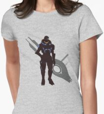 Garrus Vakarian - Sunset Shores Women's Fitted T-Shirt