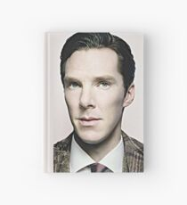 Portrait of Benedict Soft Focus Style Hardcover Journal