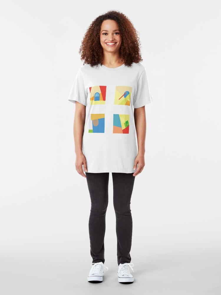 Alternative Ansicht von Chance dem Rapper neue Songs Slim Fit T-Shirt