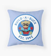 Build - A - Buck Throw Pillow