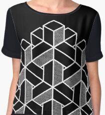 Impossible Shapes: Hexagon Chiffon Top
