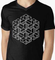 Impossible Shapes: Hexagon Men's V-Neck T-Shirt
