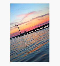 Beach Sunset Photographic Print