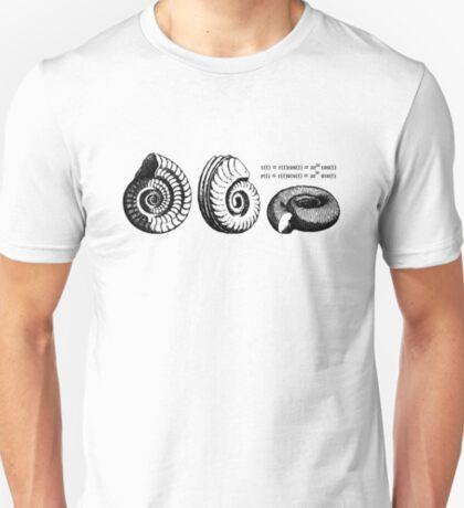 Math Spiral Shells T-Shirt