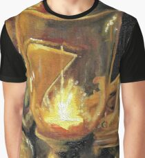 Candle-lit Study Graphic T-Shirt