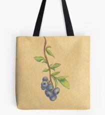 Blueberries in watercolor  Tote Bag