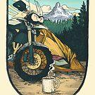 Moto Camp Life by Amanda Zito