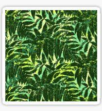 Green tropical jungle Sticker