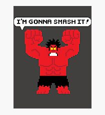 I'm Gonna Smash It! Red Hulk alt. Photographic Print