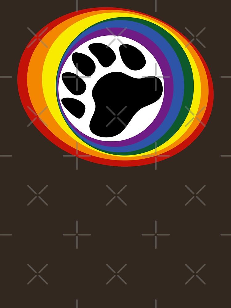 Rainbow Bear Pride by Steve616
