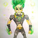 Atomic Skull  by jonkania