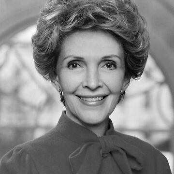 Nancy Reagan Official Portrait  by warishellstore