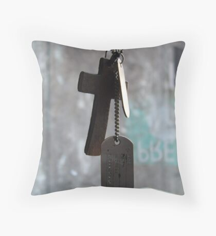 The Unknown Soldier Throw Pillow