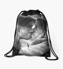 Supernatural Kiss Drawstring Bag