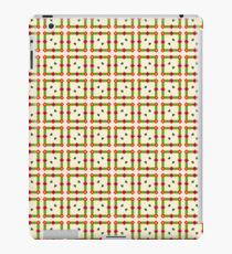 peace pattern flowers yellow romance green love seamless colorful repeat iPad Case/Skin