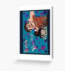 RALPH & VANELLOPE Greeting Card