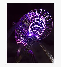 Purple Night Photographic Print