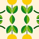 natural pattern feelings yellow nature happy seamless colorful repeat by Abrahamjrnd