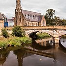 View of Morpeth Northumberland by Elaine123