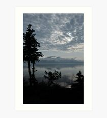 Blue Series - Kluane Lake 1 Art Print