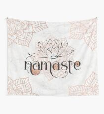 Namaste Wall Tapestry