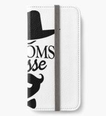 Bachelorette party beard bow tie iPhone Wallet/Case/Skin