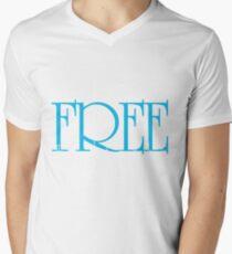 be free Mens V-Neck T-Shirt