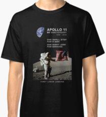 Camiseta clásica Apollo 11-50 Aniversario 1969-2019, Lunar Landing, Moon.Space