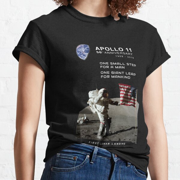 Apollo 11-50th Anniversary 1969-2019,Lunar Landing,Moon.Space Classic T-Shirt