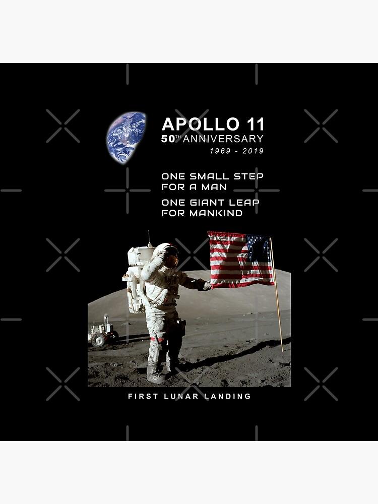 Apollo 11-50. Jahrestag 1969-2019, Mondlandung, Moon.Space von carlosafmarques