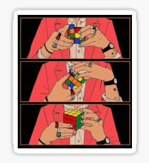 Rubik Cube - Harry Styles Sticker