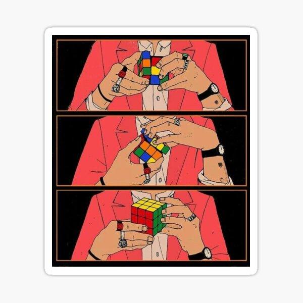 Rubik Cube - Harry Styles Sticker