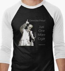 Just One More Cigar: Detective Freud Men's Baseball ¾ T-Shirt
